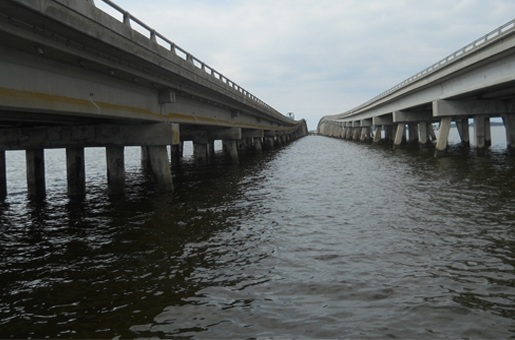 Wright Memorial Bridge over Currituck Sound