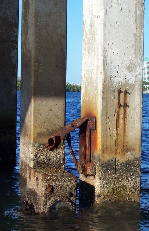 Grove Isle Bridge inspection condition assessment repair and rehabiltation