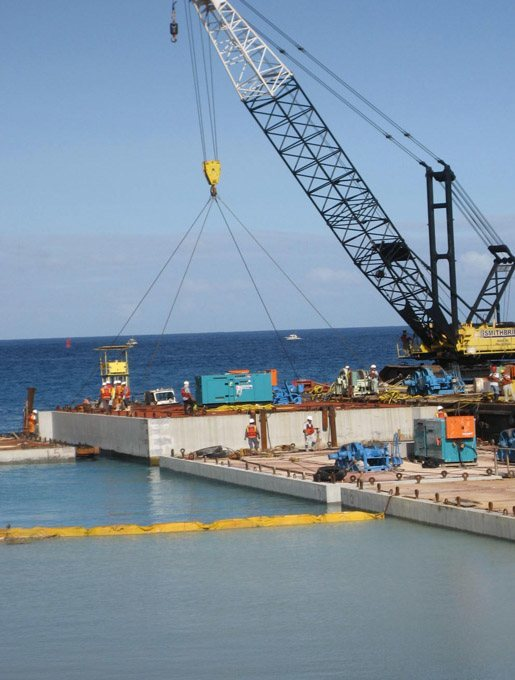 Kilo Wharf Extension Guam US Navy durability modeling